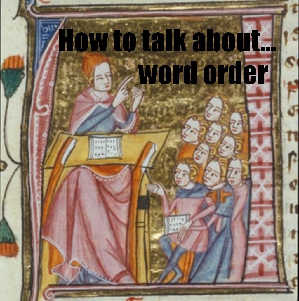 Word order 2
